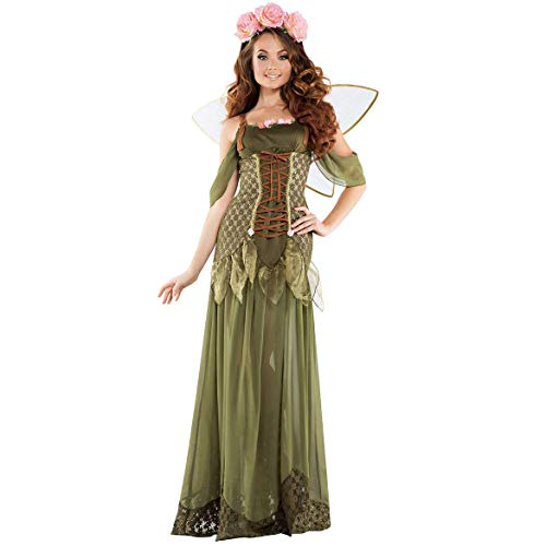 Halloween Cosplay Uniform, Supergirl Stage Wonder Woman Dc Kostüm, Spieluniformen, Forest Flower Fairy Butterfly Elf Engel, Rollenspiele Sets,XL (Kostüm Fairy Flower)
