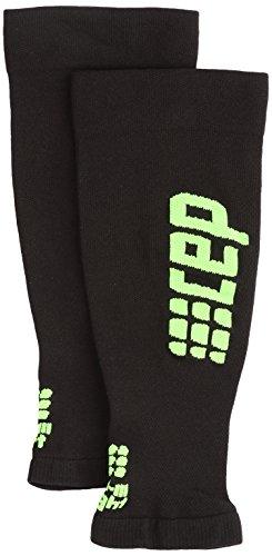 CEP - Ultralight Calf Sleeves für Herren | Dünne Beinstulpen für exakte Wadenkompression | schwarz/grün | Größe IV -