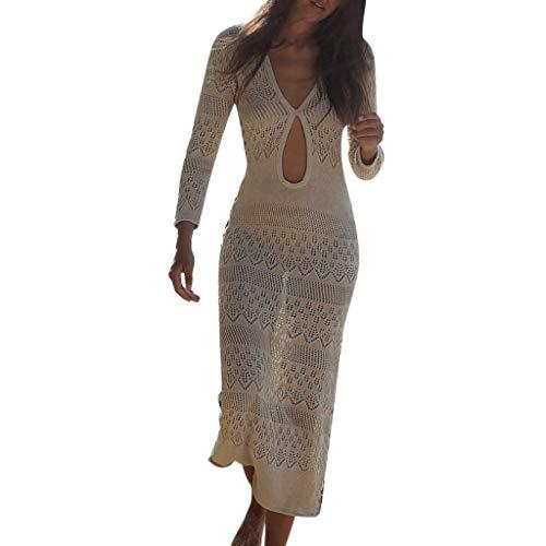 Trajes De BañO Mujer 2019 BrasileñOs Crochet Protector Solar Cubrir Bikini Knit Beach Vendaje
