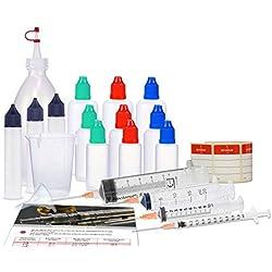 E Liquid miscelazione Set, Starter Set per e sigarette con Bottiglietta, Liquid Bottiglie, Dosatore Splash, misurino e imbuto mescolato, Preparazione di bevande e Liquid