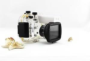 Kaavie - Boîtier étanche pour Canon PowerShot G1X WP-DC53 Jusqu'à 40 mètres (130 pieds)