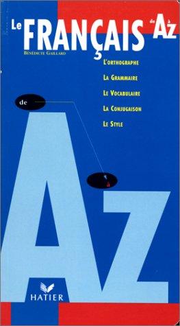 Practique Du Francais De A-Z