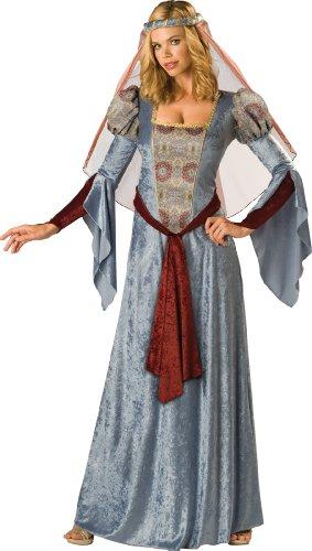 Maid Marian Kostüm für Frauen - Deluxe (Hood Und Marian Maid Robin)