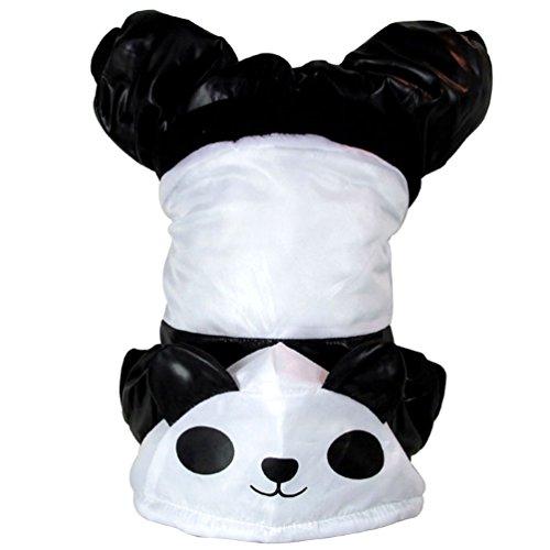 smalllee_lucky_store xy000153-m Kleiner Hund Panda Hoodie Kostüm, weiß, Medium