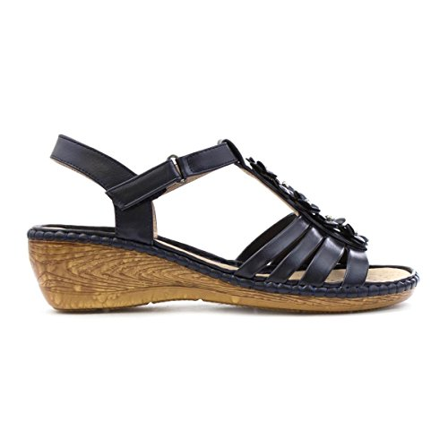 Cushion Walk, Sandali donna Blue