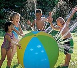 Merlilife - Kinder Wasser Ball Spielzeug Garten Sprinkler Bewässerung