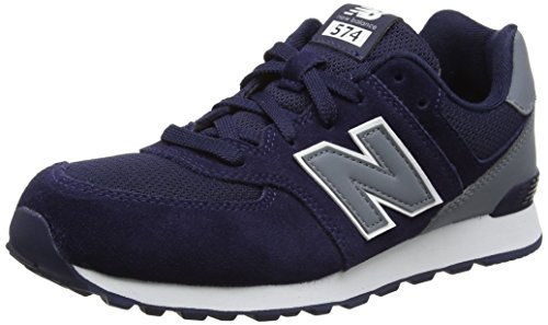 new-balance-unisex-kinder-574-high-visibility-sneakers-blau-navy-38-eu