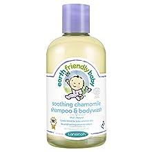 Earth Friendly Baby - Camomille Apaisante Shampooing & Bodywash, 250 ml