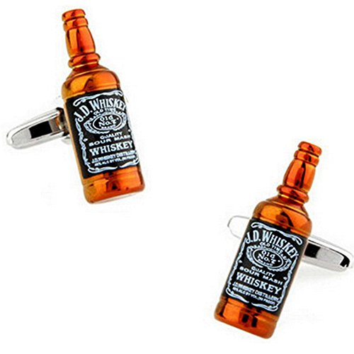 Graybird Gemelos con forma de botella de whisky