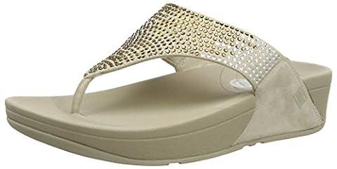 Fitflop Flare, Women's Sandals, Pebble, 6 UK (39 EU)