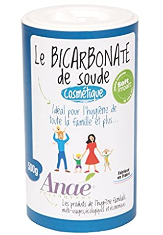 Ecodis - Bicarbonate de soude 500 g COSMETIQUE