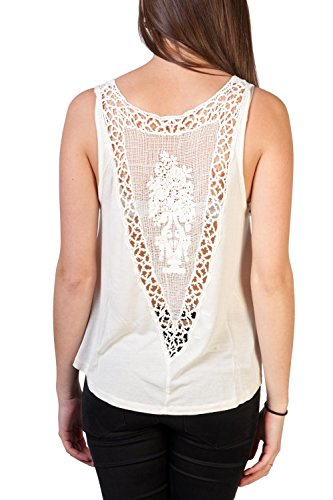 Element Aluna Girls Top (ivory) White