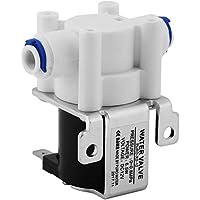 """Magnetventil Akozon 1 stück DC 1/4"""" DC12V Wasser Elektrischen Magnet Magnetische Magnetventil Schließen Normalerweise Schließen für Wassermaschine/Trinkwasser Ausrüstung"""
