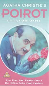 Agatha Christie's Poirot: How Does Your Garden Grow? / The Million Dollar Bond Robbery [VHS] [1991]