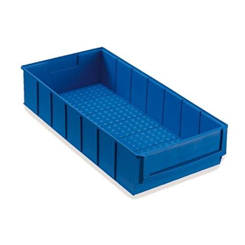 Preisvergleich Produktbild Industriebox 400x183x81 mm blau Lagerkasten Stapelkiste Lagerkiste Lagerbox Universalbox Kunststoffbox Kunststoffkiste Aufbewahrungskiste Universalkiste