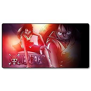 CoolChange großes One Piece Gaming Mauspad, XXL Manga Tischauflage
