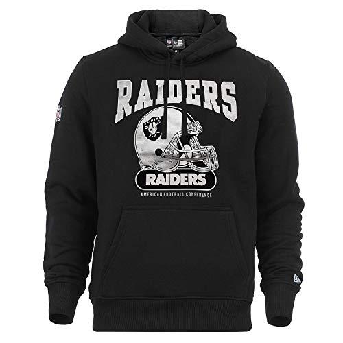 New Era Herren Kapuzenpullover NFL Archie Hoody Oakland Raiders - Black L