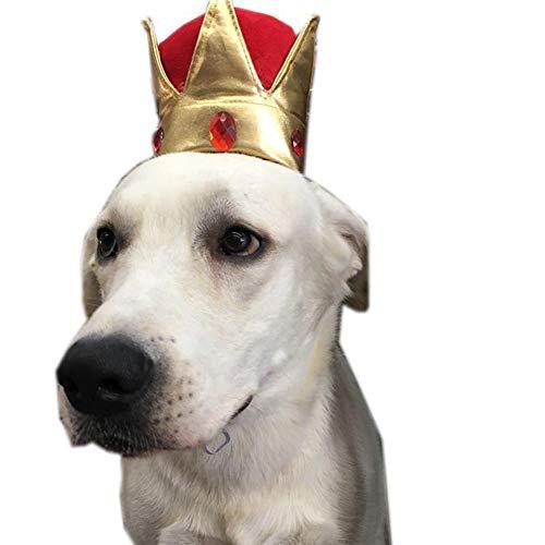 y Party Innovative Kappe Haustier Hut Hund Crown Design Hut Für Hündchen Katze Haustier Partei Liefert Haustier Kostüm Zubehör ()
