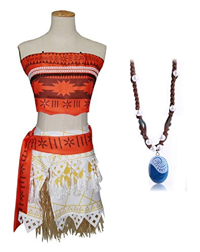 Inception pro infinite ( taglia s ) costume completo - include la collana da vaiana moana - donna - carnevale - halloween - travestimento - cosplay - adulti