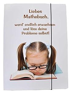 Dulce-Verlag 97743 - Niñas Gummizugmappe Libro De Matemáticas