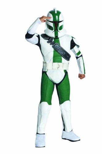 Star Wars Kinder Kostüm Clone Trooper Gree - 140 cm (Star Wars Clone Trooper Kostüme)