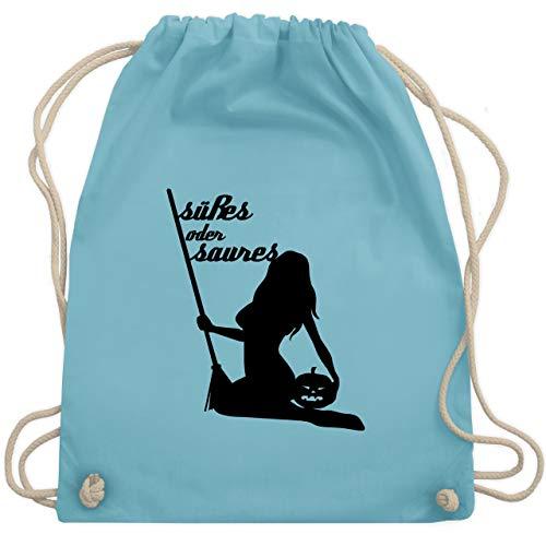oder Saures sexy - Unisize - Hellblau - WM110 - Turnbeutel & Gym Bag ()