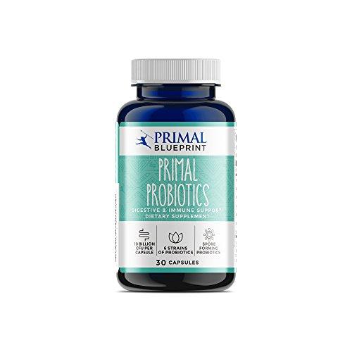 #1 Complete Probiotic Blend - Primal Probiotics, 30 capsules