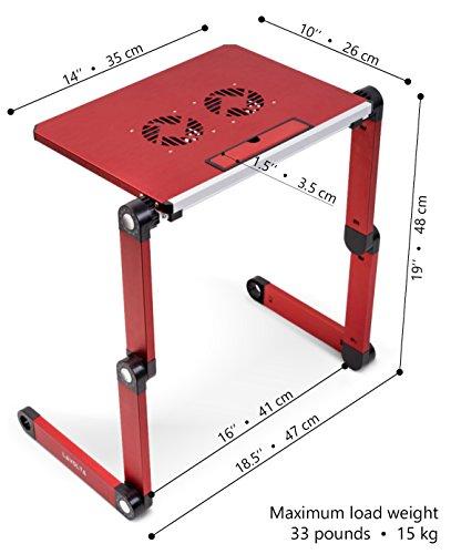 Lavolta Tavolino Pieghevole.Lavolta Tavolino Pieghevole In Lega Di Alluminio Per Pc