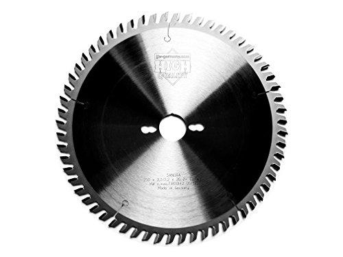 jjw-germany HM - Kreissägeblatt Sandra 250 x 30 Z= 60 WZ für Tisch oder Formatkreissäge, 1 Stück, 4250980601025