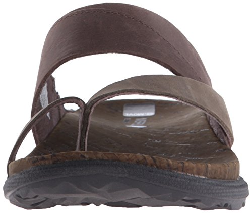 Merrell Around Town Thong Damen Zehentrenner Brown/Green