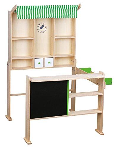 Beeboo Kaufladen hellgrün/weiß, 74x68x97cm