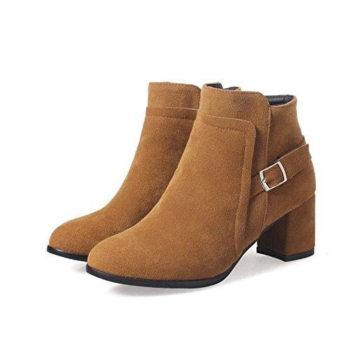 Unknown 1to9mns02470 - Sandales Compensées Camel Pour Femme