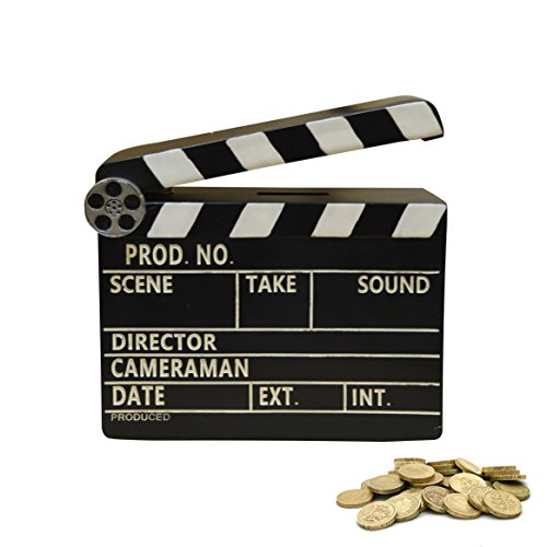 New Retro-Geschenk Film Szene Filmklappe Spardose (Movie1)