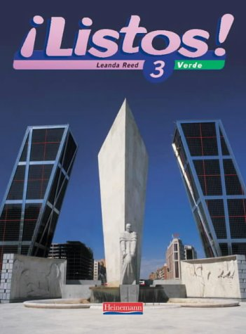 Listos! 3 Verde Pupil Book (Listos for 14-16)