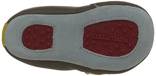 Catimini Hibou, Chaussures Quatre Pattes (1-10 mois) Bébé Garçon Marron (15 Vte Taupe/Moutarde Dpf/Souple)