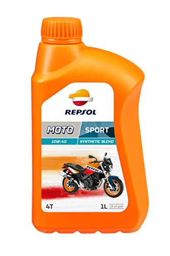 Repsol Moto Sport Moto 4T 10W40-Olio motore 1 L
