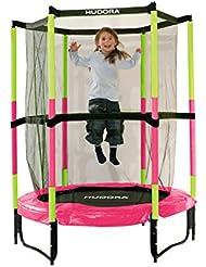 HUDORA Kinder-Trampolin Jump In mit Sicherheitsnetz - 140 cm