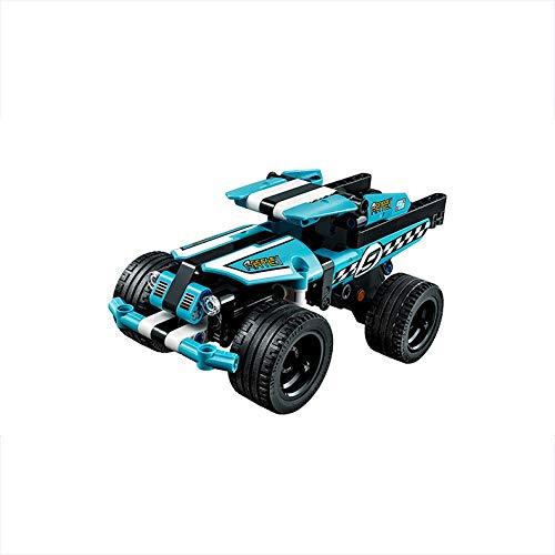 ZFXNB Kinderspielzeug, Technik Polizei Verfolgung Spielzeugauto Fahrzeug Pull-Back Motor Polizei Spielzeug für Kinder Lego Technik Lego Autotechnik Speed   Champion (Pull Lego Motor Back)