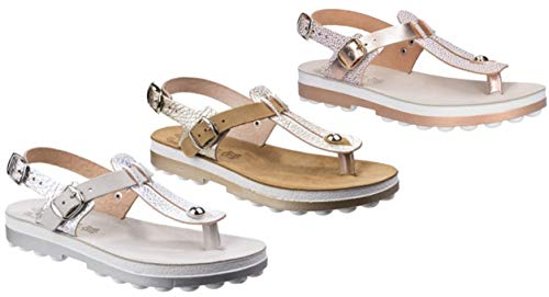 Mirabella Rosegold Sandalen 38 Sandals Volcano Fantasy uK1cl5JFT3