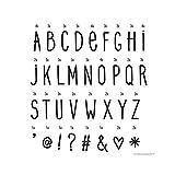 A Little Lovely Company 129-016 - Set mit 85 Buchstaben und Symbolen