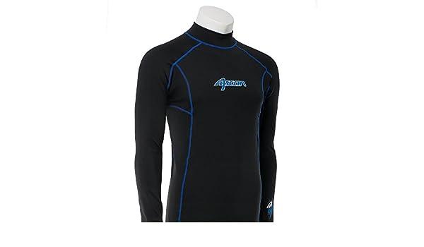 Ascan Thermoshirt Thermo UV-Schutz Rash Vest Neopren Unterzieher NEU