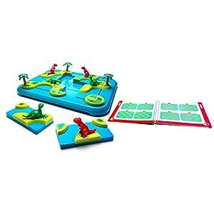Smartgames – SG 282 FR – Archipiélago de los Dinosaurios – Juego de reflexión para niños