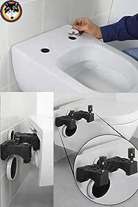Villeroy /& Boch 65798 3 Kit de fixation pour WC mural Subway