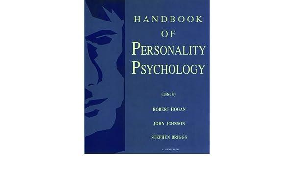 h andbook of personality psychology briggs stephen johnson john hogan robert