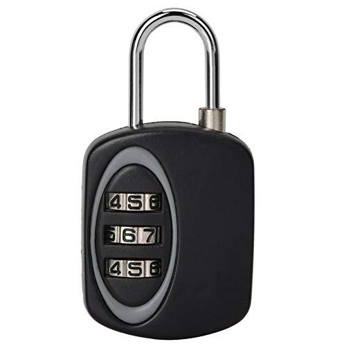 TSA Schloss, Tragbares 3-stelliges Kombinationskennwort Vorhängeschloss Zollcode Schloss, Geeignet für Reisetaschen, Schubladen -