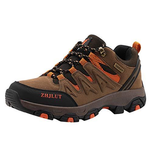 n Schuhe Unisex Paar Mesh Atmungsaktiv Wanderschuhe Outdoor rutschfeste Wandern Kletterschuhe Wilde Freizeitschuhe Laufschuhe DäMpfung Sportschuhe Turnschuhe Leichte Schuhe ()