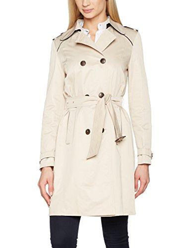 Belted Damen Trench Coat (Gerry Weber Damen Mäntel Belted Beige (Muschel), 42)