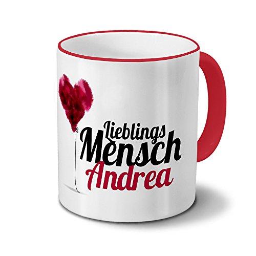 Tasse mit Namen Andrea - Motiv