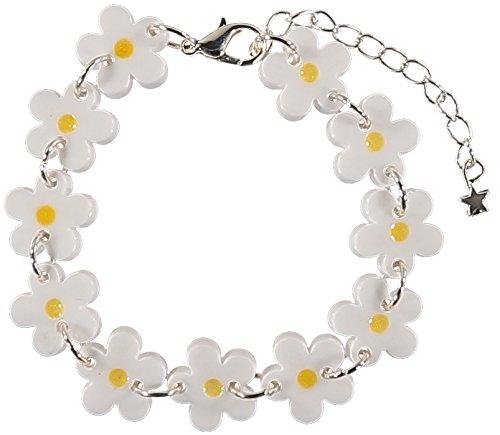 Sour Cherry Daisy Chain Bracelet