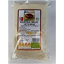 Bioprasad Harina de mijo integral ecológica Sin gluten Sin lactosa ...